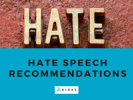 Hate Speech Recommendations - 2nd Notification