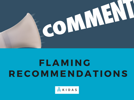 Flaming Recommendations - 2nd Notification
