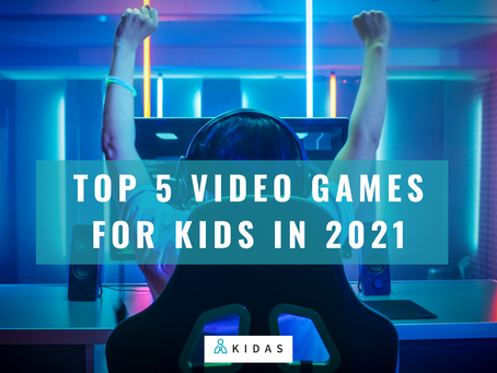 Top 5 New Video Games for kids in 2021