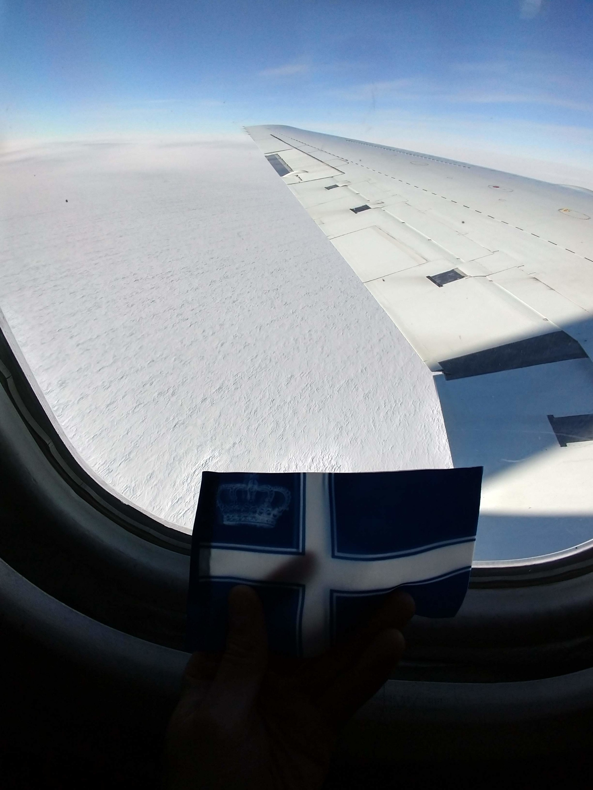 Westarctica's Flag Over Antarctica