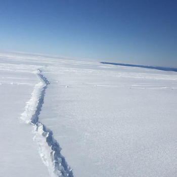 The Pine Island Glacier