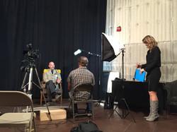 Grand Duke Being Interviewed