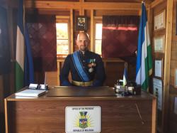 Grand Duke at the President's Desk