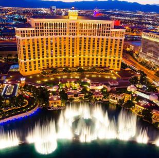 The Bellagio Hotel Fountain