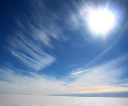 The Sky Over Westarctica