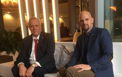 With Italian Consul