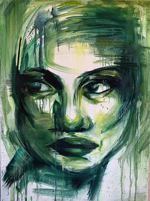 Large Green portrait