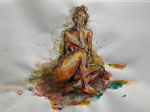 watercolour.nude.in colour