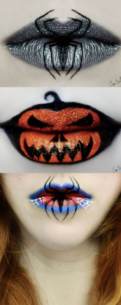 Halloween Lip detail