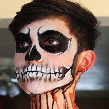 Opaque skull