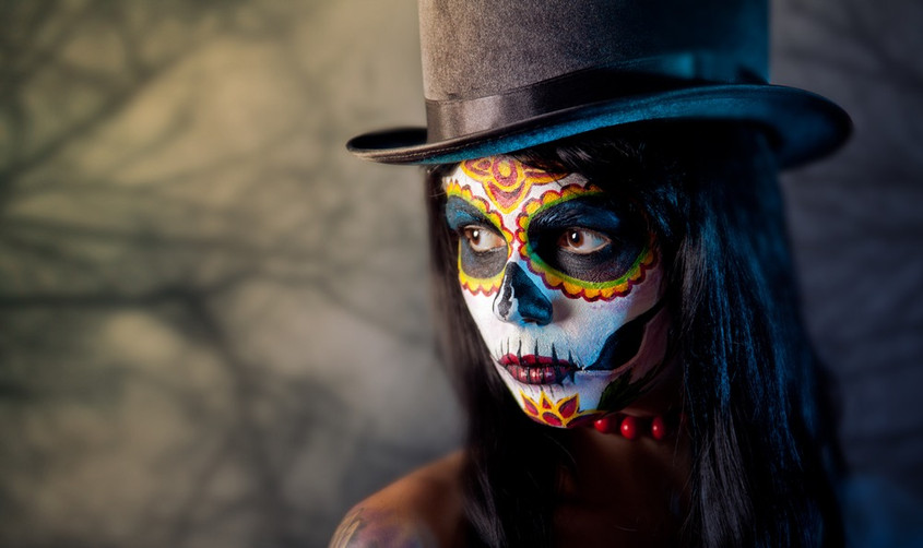 Sugar Skull with Top Hat.jpg