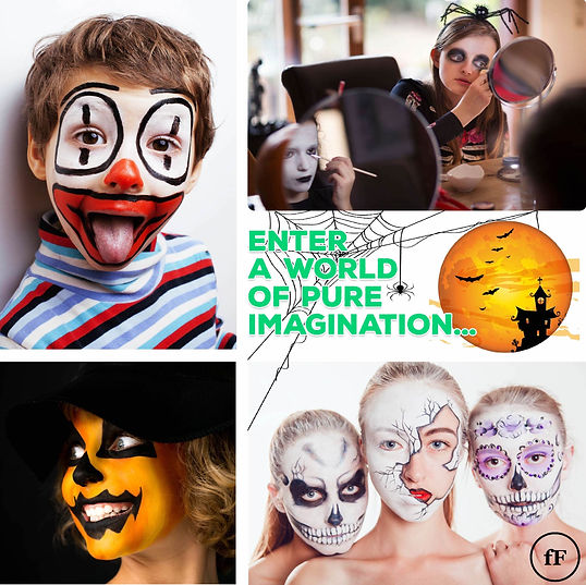 Halloween face paint set for kids & adul