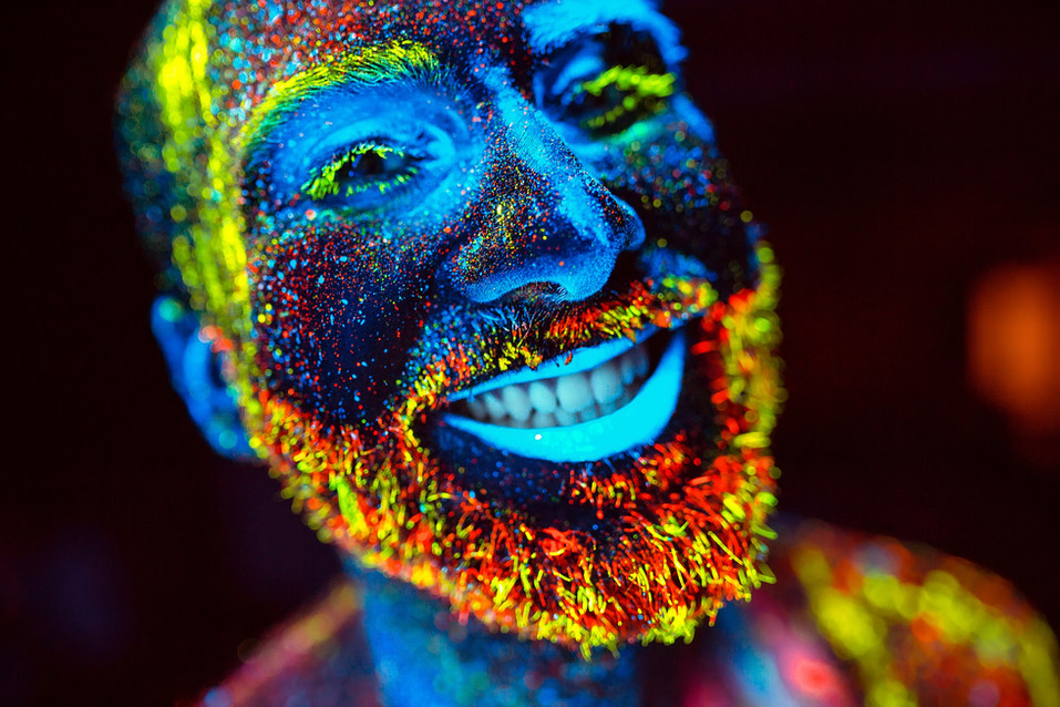 Beardy Bloke Neon