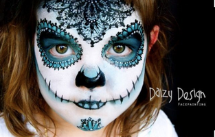 Gorgeous Day of the Dead by Daizy Design