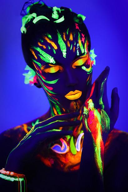 UV flames