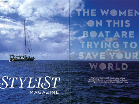 THE WOMEN ON THIS BOAT ARE TRYING TO SAVE THE WORLD - Stylist article