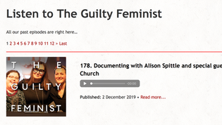 I was on The Guilty Feminist!