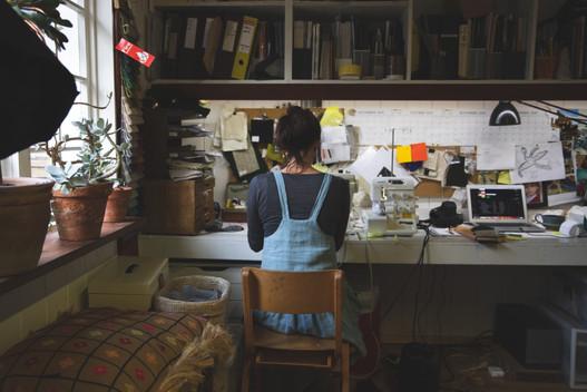 Chloe - textiles designer