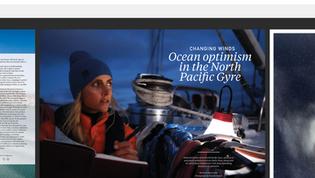 Photos in Oceonographic magazine