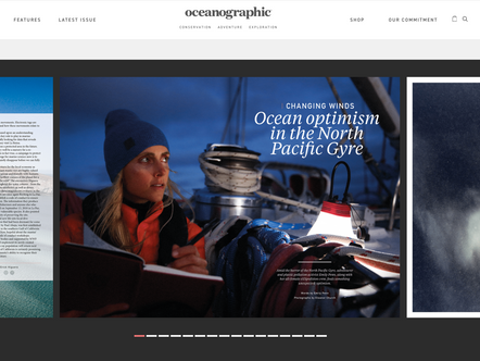 Photos in Oceonographic magazine