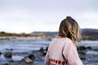EleanorChurch_Girl_on_Windy_Beach_Scotla