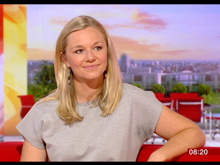 Emily on BBC Breakfast