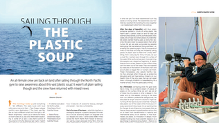 Article in the Marine Conservation Society quarterly magazine