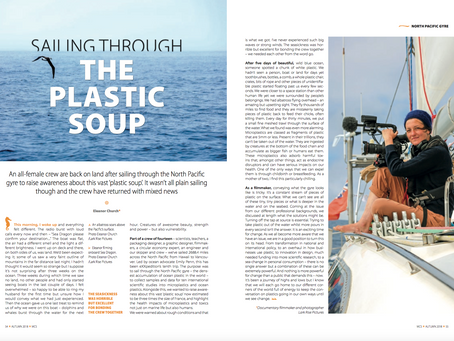 Article in the Marine Conservation Society quarterly magazine.