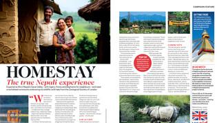 ZSL for Wanderlust magazine