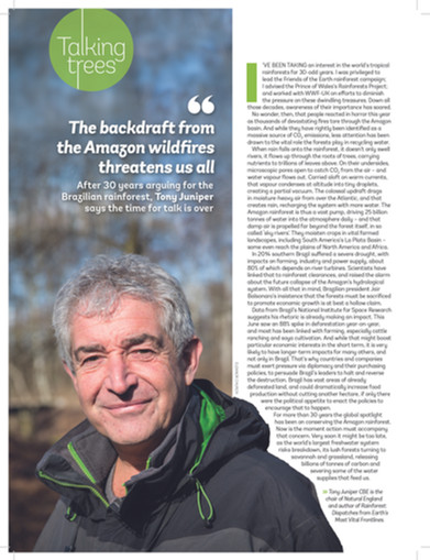 Tony Juniper Portrait