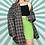 Thumbnail: Zip-Up Flannel Jacket