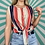 Thumbnail: Red Striped Tie Crop