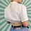 Thumbnail: Vintage White Dirndl Blouse