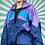 Thumbnail: PurNavy Retro Windbreaker