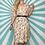 Thumbnail: Cream Floral Midi Dress