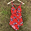 Thumbnail: Red Retro Vintage Swimsuit