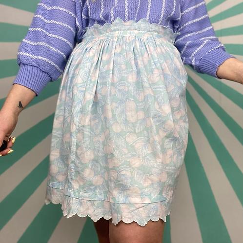 Vintage Pastel Floral Skirt