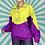 Thumbnail: Yellow Half-Zip Windbreaker
