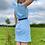 Thumbnail: Blue Floral Summer Dress