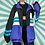 Thumbnail: Retro Black Windbreaker