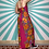 Thumbnail: Pink Hawaiian Maxi Dress
