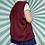 Thumbnail: Lacoste Burgundy Knit Vest