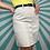 Thumbnail: Cream Button-Up Mini Skirt