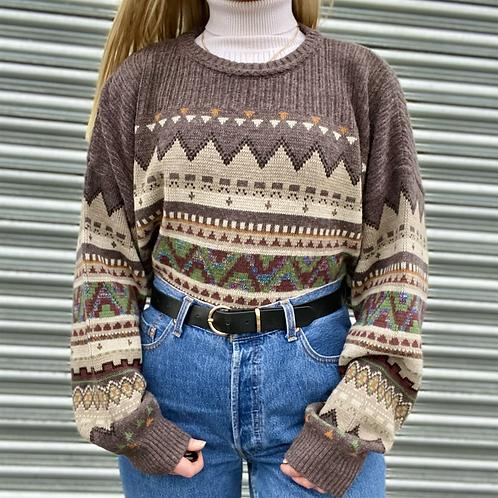 Italian Retro Knit Jumper