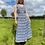 Thumbnail: Blue Cheque Maxi Dress