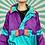 Thumbnail: Blue Funky Rain Jacket