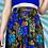Thumbnail: Blue Paisley Midi Skirt
