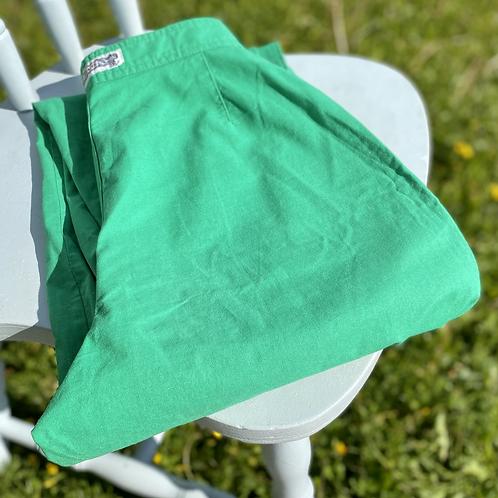 Vintage Green Summer Pants