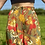 Thumbnail: Khaki Floral Culotte Shorts