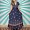 Thumbnail: Bohemian Navy Maxi Dress